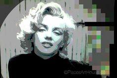 Pisces Art House   Marilyn Pop Art