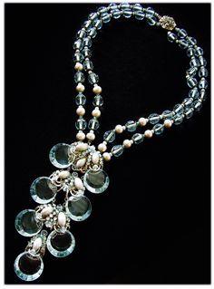 #MiriamHaskell #Waterfall necklace... #SparkleInOurLives