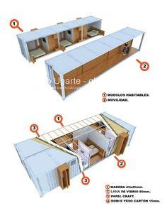 Portal Diseño - Hotel Mueble para el Desierto de Atacama