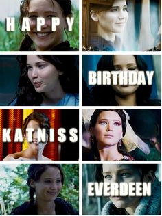 May 8th girl on fire day   happy birthday katniss