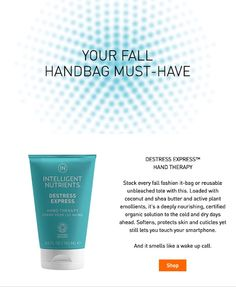 INtelligent Nutrients Destress Express Hand Therapy