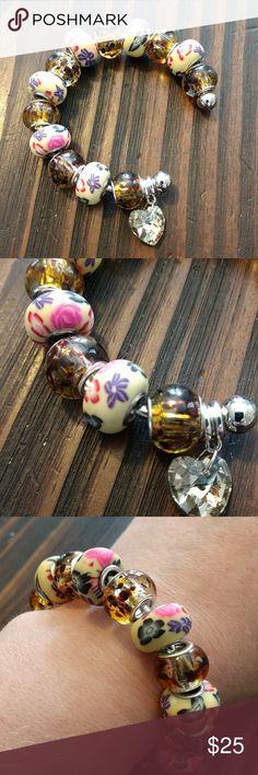 🎉2 for $30🎉Handmade Beaded Bracelet 🎉2 for $30🎉 Handmade. Beautiful beaded bracelet. Handmade Jewelry Bracelets