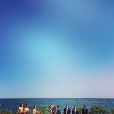 #mainewedding #fortfoster #blueskies #weddingphotography #iphonography #melissakorenphotography #tolovetolaughtoremember #thewrightcoll