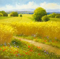 Artista Gerhard Nesvadba. Un hermoso paisaje. Discusión sobre LiveInternet - Servicio de Rusia Diarios Online