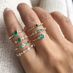 There's nothing quite as thoughtful as a personalized gift, but monogramming isn't the only way to go. Birthstone jewelry is a fresh take that feels so sentimental and is much more subtle. If you or someone you know is a May baby any these standout emerald pieces would make such a special gift, but ...