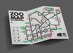 Infographic Map for the Johannesburg Zoo by Deft Effect