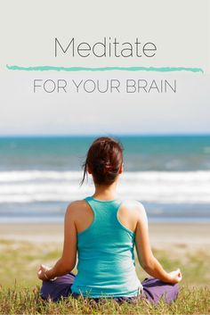 Consider meditation one of the best ways you can protect important brain tissue.