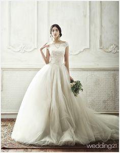 [웨딩드레스] 우아하고 사랑스러운 2014 S/S 드레스 컬렉션...클라라웨딩 < 웨딩뉴스 < 웨딩검색 웨프