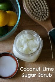This stuff is AMAZING!!!!!    New Nostalgia: Coconut Lime Sugar Scrub & A Shaving Technique For Soft Silky Legs