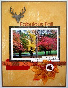 Fabulous Fall - The Robin's Nest design team - Scrapbook.com