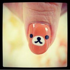 Nails For Kids, Rilakkuma, Biotin, Girl Stuff, Girly Things, Nail Art, Cute Nails, Fingernail Designs, Girl Things