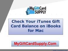 How Can I Check the Balance on My iTunes Gift Card?   Itunes gift ...