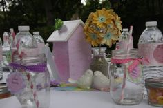 Photo 1 of 30: Birds / Feathers / Nest / Baby Shower/Sip & See Sweet Tweet Baby Shower | Catch My Party