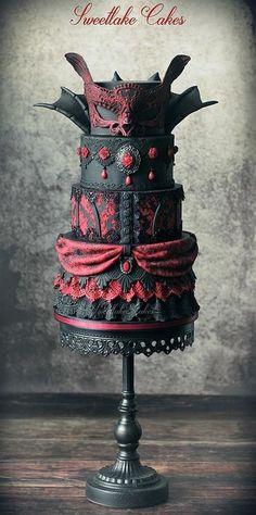 Goth cakes