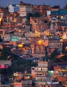 hang out in the Rio favelas