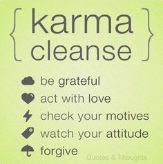 MAKING AMENDS. CLEANSE YOURSELF OF HATRED! STOP HOLDING GRUDGES. FORGIVE....BDLD