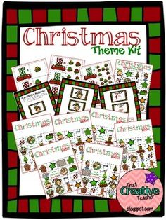 HUGE Christmas Theme Pack on TPT. Only $3.00