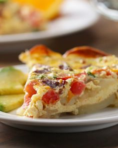 Potato-Crusted Quiche Recipe by Tasty