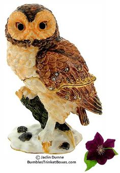 Trinket Boxes- Brown Owl