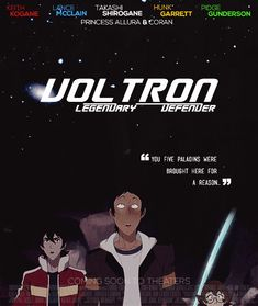 Legendary Dorks — doopity: Voltron as a movie poster