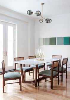 Casinha colorida: Especial salas de jantar 2016: as vintages