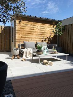 64 Ideas home exterior modern backyards Patio Balcony Ideas, Balcony Garden, Pergola Ideas, Back Gardens, Outdoor Gardens, Dream Garden, Home And Garden, Small Outdoor Spaces, Modern Backyard