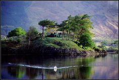Island of the dead, Ballachulish, Glencoe