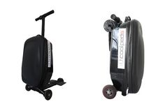 The Coolpeds scooter company has added a new option to the mix with their electric briefcase scooter. Scooter Design, Briefcase, Electric, Play, Live, Inspiration, Travel, Ideas, Biblical Inspiration