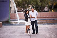 Downtown Los Angeles Engagement | Robin + Timothy | Fashion Disneyland OC | Orange County Wedding Photographer