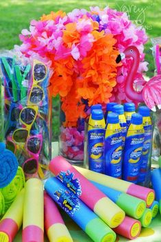 Luau Hawaii Beach Graduation End of School Party Ideas Photo 3 of 44 Catch My Party