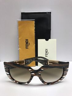 75d6a2db63c2 FENDI FF 0031 S 7YQCC Limited Ed Baguette Tobacco Marble Sunglasses  Authentic  fashion  clothing  shoes  accessories  womensaccessories ...