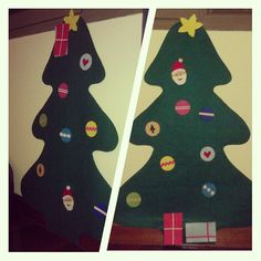 Este año nuestro árbol de navidad está #HechoAMano, es del tamaño de #MiniEzús y está a su altura para que pueda jugar. Él, en su particular visión del asunto, tiene la firme convicción de que los regalos han de ir arriba junto a la estrella...