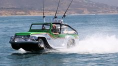 Is it a car or a boat  or this