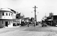 Rankin St,Innisfail in 1936.