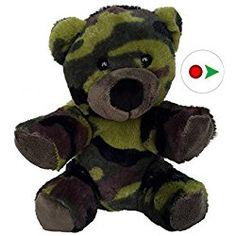 e309e829dd78d Cuddly Soft 8 inch Stuffed Camo Teddy Bear - We stuff  em. Valentine  Decoration Inspiration