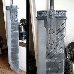 Buster sword detail