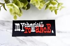 My CHEMICAL ROMANCE Music Iron on Patch Band Retro Embroidered Badge Patches