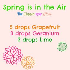 Spring is in the air diffuser blend!