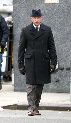 "Jason Statham as Jasper, on the set of ""13"""
