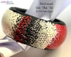 Natural BRACELET Cuff Bracelets, Polymer Clay, Natural, Red, Jewelry, Jewellery Making, Jewerly, Jewlery, Jewelery