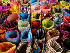 Hand woven by native Wayuu people from La Guajira
