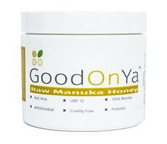 Raw Manuka Honey UMF 12 2 oz Facial Mask Pure Natural Organic New Zealand Anti Bacterial Bio Active Smoothing Repair Damaged Skin Treatment Psoriasis Dermatitis Eczema Acne by GoodOnYa *** Want additional info? Click on the image.