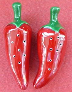 red salt and pepper shakers