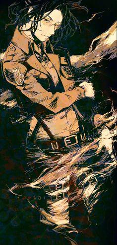 Tags: Anime, Shingeki no Kyojin, 15000 (Artist), Hange Zoë