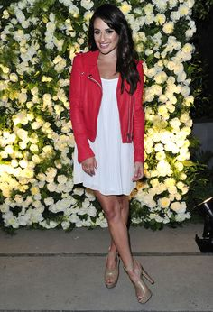 Le look de Lea Michele