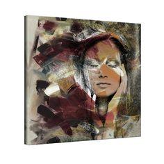 'Abstract Girl 2' Canvas Wall Art