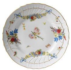 Vecchio Ginori - Farfalle Fiorite Dinner Plate from Richard Ginori 1735 in New York, NY from Richard Ginori 1735