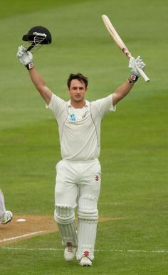 March 8, 2013: Hamish Rutherford of New Zealand, on his way to a stroke-filled 171 at Dunedin, takes the record for the highest score by an opener on debut against England from Charles Bannerman of Australia, who set it way back in 1876-77 in the first ever Test.