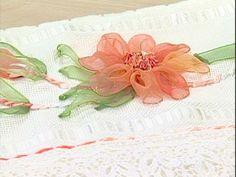 Arte Brasil | Bordado de flor silvestre - Zilda Mateus