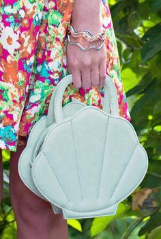 Seashell Purse https://sincerelysweetboutique.com/bags/seashell-purse.html - #seashellpurse #seashell #sincerely-sweet -  mint mermaid seashell bag
